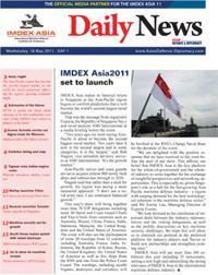 IMDEX ASIA 11 - Day 1