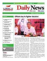 LIMA 2011 - DailyNews Day 1