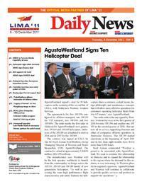 LIMA 2011 - DailyNews Day 2