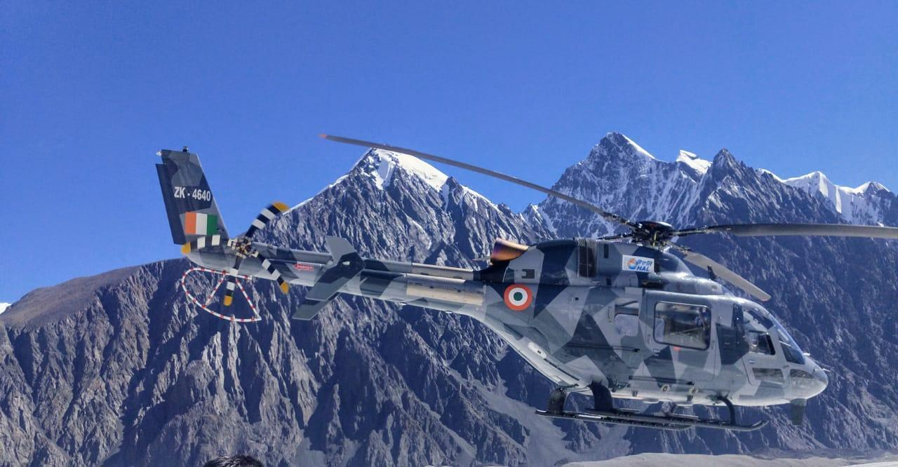 Indian Light Utility Helicopter Completes 'Hot & High' Trials
