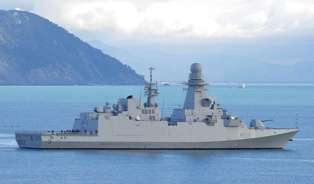 Egypt frigate FFG 1002 Al-Galala الجلالة مصر