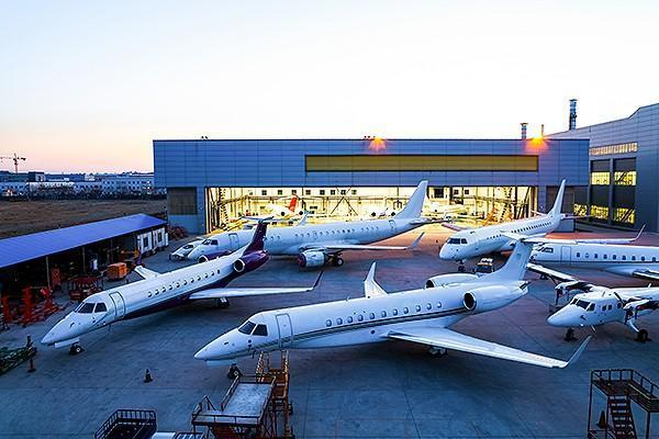 The first 96-month check performed on a Chinese registered Embraer Legacy 650 has been completed by ExecuJet Haite Aviation Services China