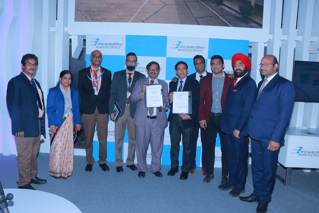 Indian Defence PSU Bharat Electronics Limited (BEL) has entered into an MoU for co-operation in the development of Autonomous MANPADS Data Link System (AMDLS) with Grene Robotics Pvt Ltd.