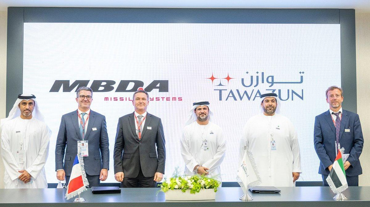 Tawazun to Develop SmartGliders with MBDA طائرات شراعية ذكية