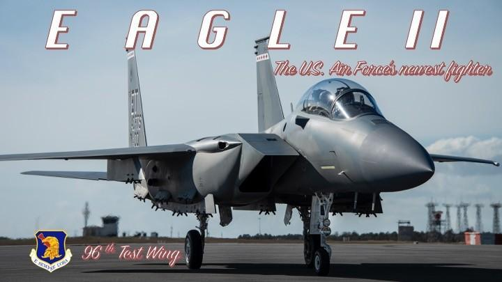 The U.S. Air Force's newest fighter has been named the F-15EX Eagle ll