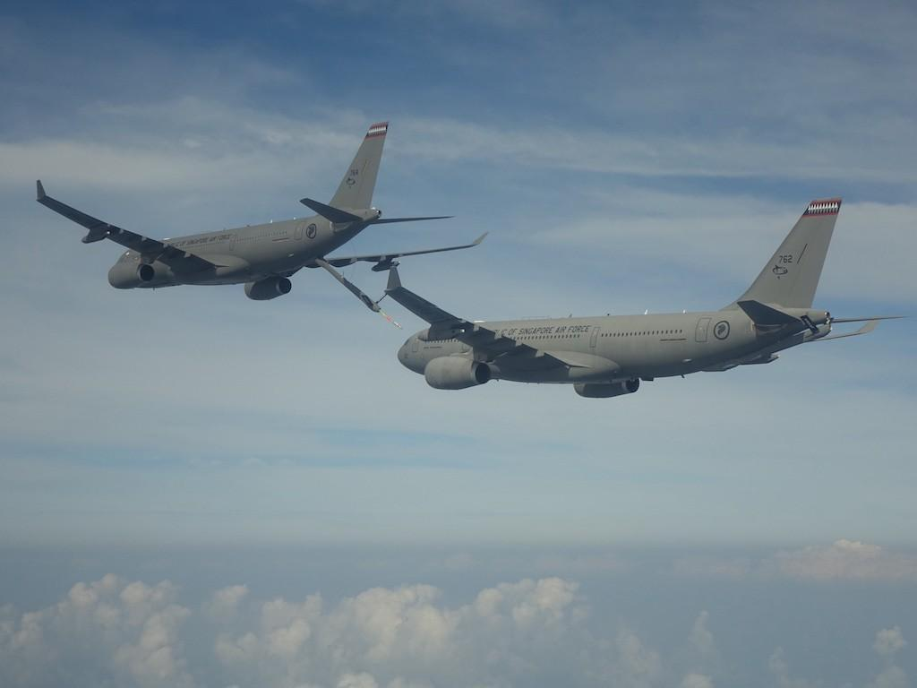 The Republic of Singapore Air Force A330 Multi-Role Tanker Transport has attained Full Operational Capability (FOC) status with 112 Squadron