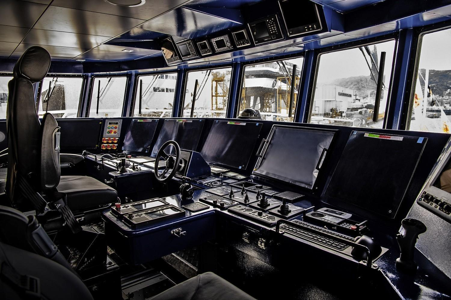 """The Italian Coast Guard's new patrol boat CP420 """"Natale De Grazia,"""" is fitted with the SOVERON communications suite from Rohde & Schwarz"""