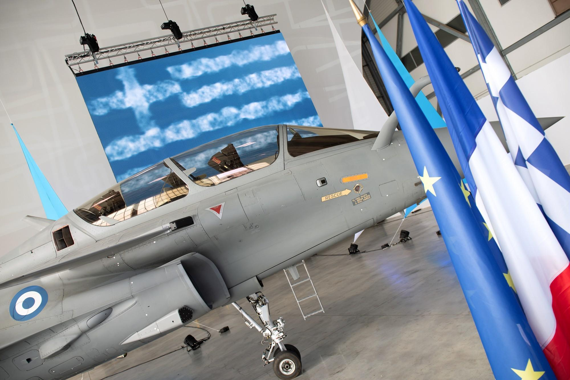 The Hellenic Air Force (HAF) has taken delivery of its first Dassault Aviation Rafale fighter jet at the airframer's Flight Test Center in Istres