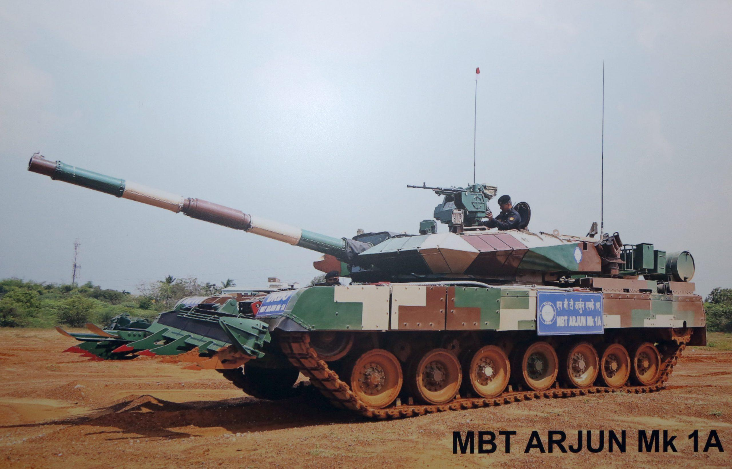 India Places Orders for 118 Arjun Mk-1A MBTs