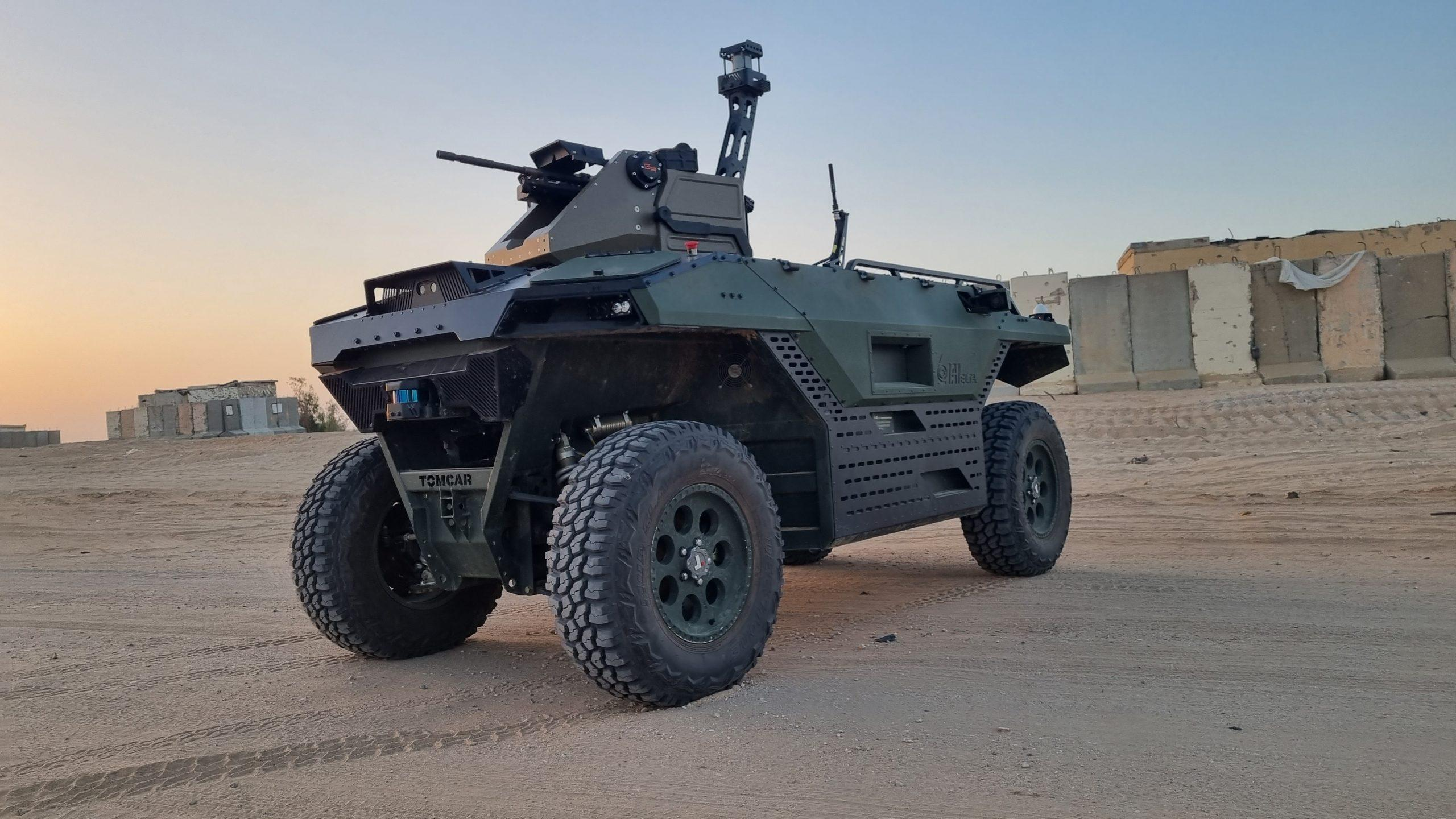 Israel Aerospace Industries (IAI) will unveil the newest variant of the REX MK II unmanned land platform at DSEI